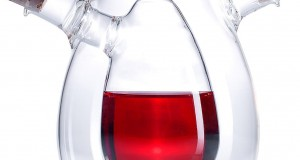 2in1-Essig- und Öl-Spender aus Glas